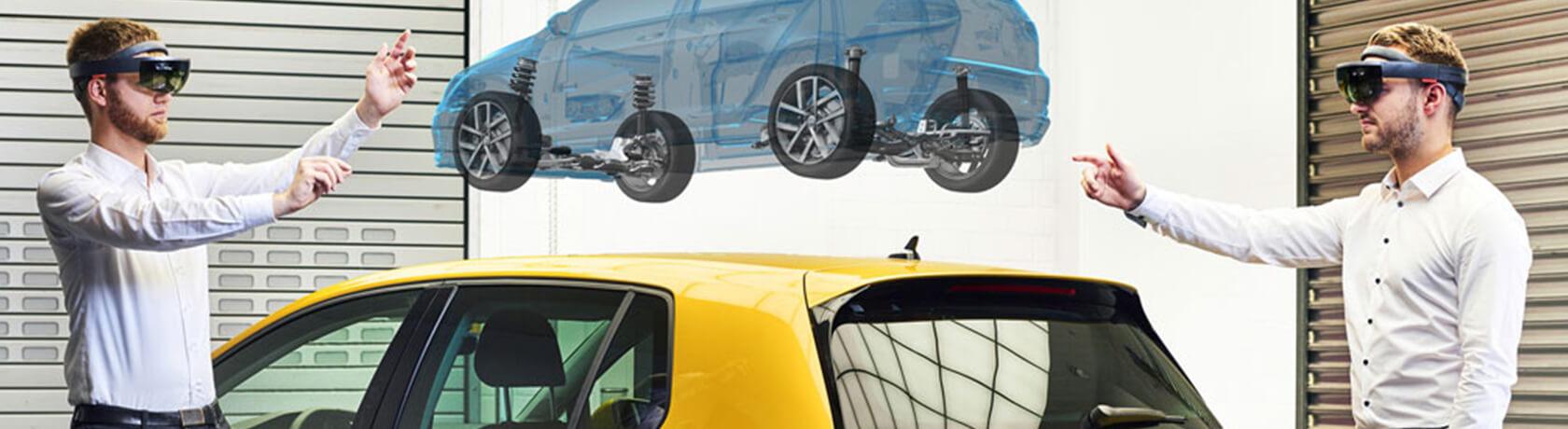 Come progettare le auto del futuro... virtualmente!