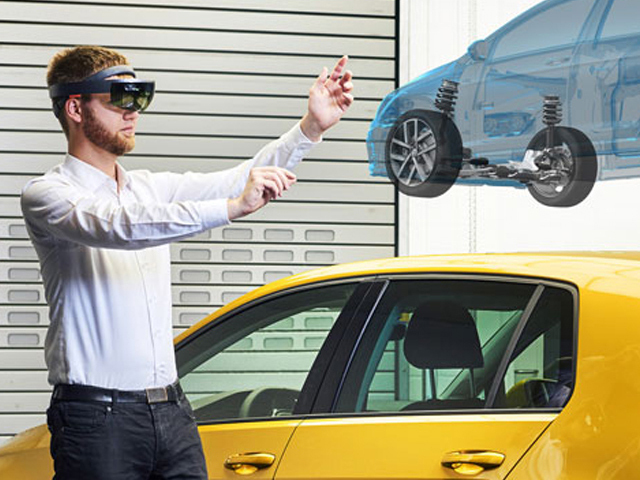 How Volkswagen is developing the car of the future virtually