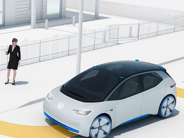Quando è il robot a ricaricare l'auto elettrica
