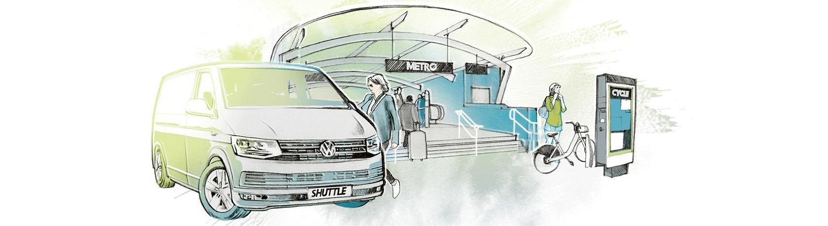 Autonoma, digitale, a emissioni zero: è la mobilità del domani