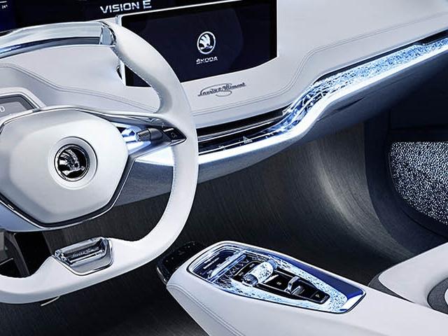 Interni Škoda Vision E