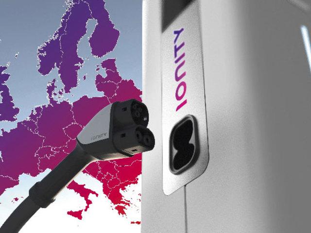 IONITY, la rete di ricarica rapida che attraversa l'Europa