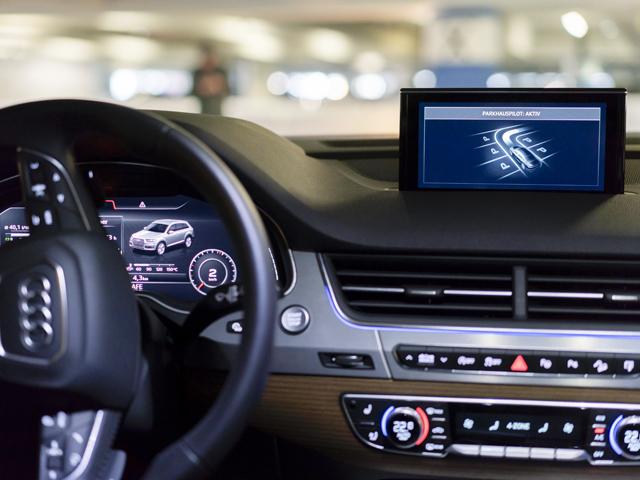 Parcheggio autonomo: test all'aeroporto di Amburgo