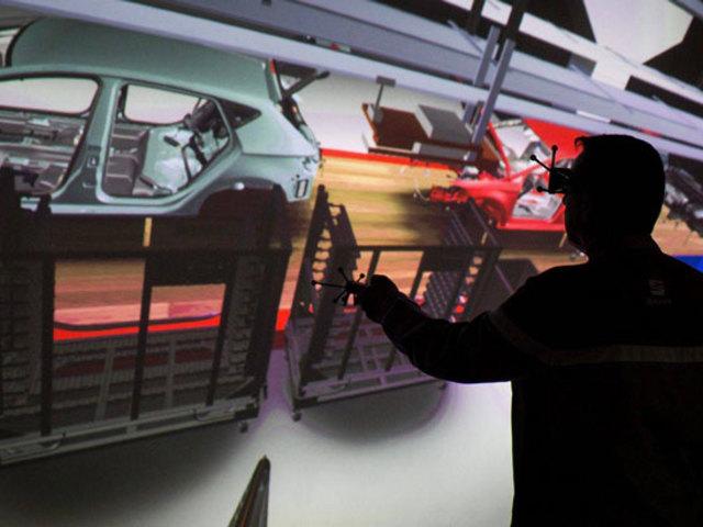 95.000 simulazioni 3D per ogni auto