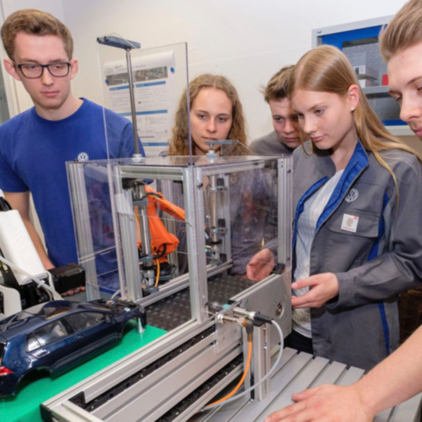 A miniature factory for testing out innovations