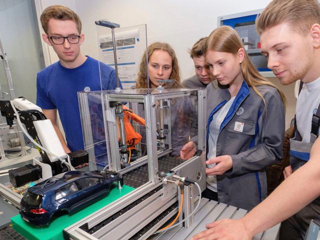 Una fabbrica in miniatura per testare le innovazioni