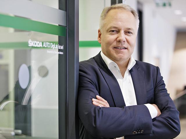 Andre Wehner Chief Digital Officer, ŠKODA AUTO - ŠKODA DigiLab Israel