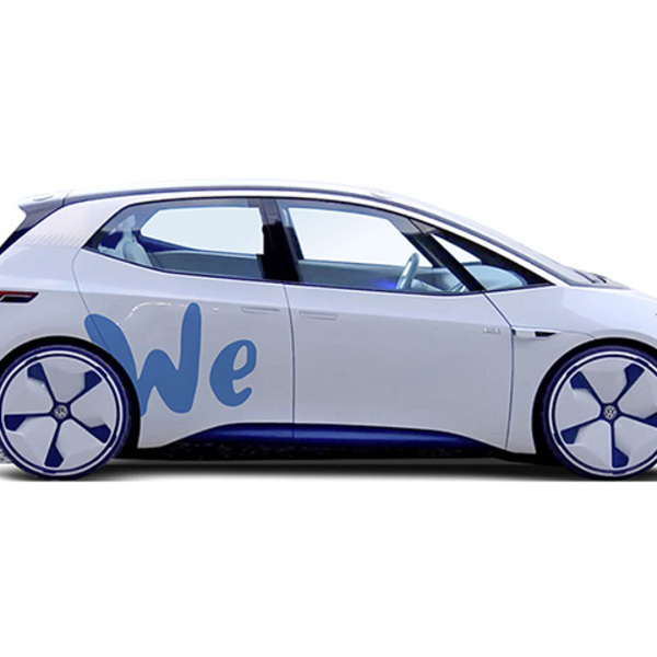 100% electric: Volkswagen's future car sharing