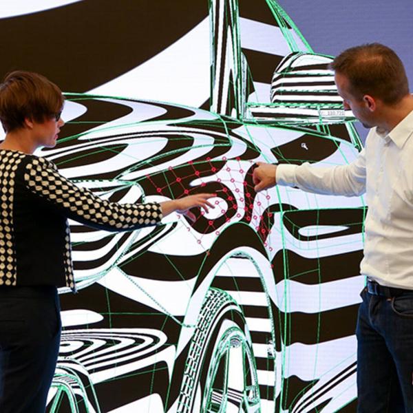 I segreti della progettazione digitale di un'auto