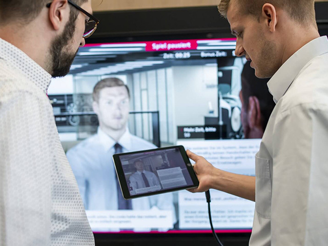 Audi Virtual Training: learning is… child's play!