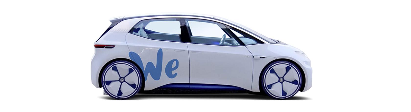 100% elettrico, il car sharing del futuro firmato Volkswagen