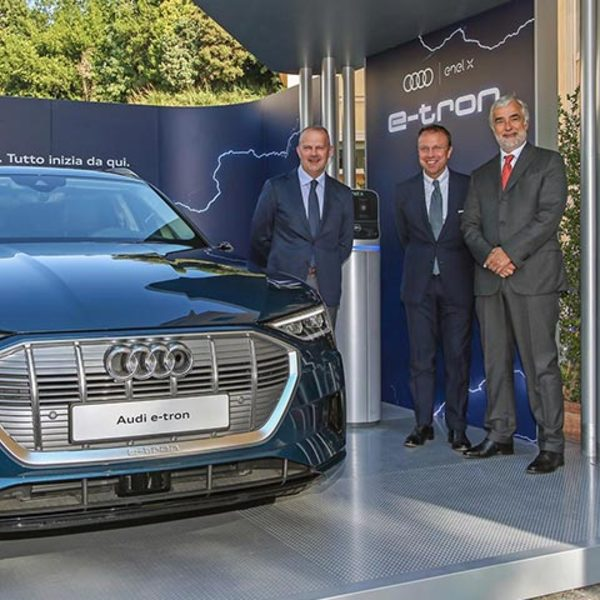 Ready for e-tron: Audi and Enel X together for electric mobility