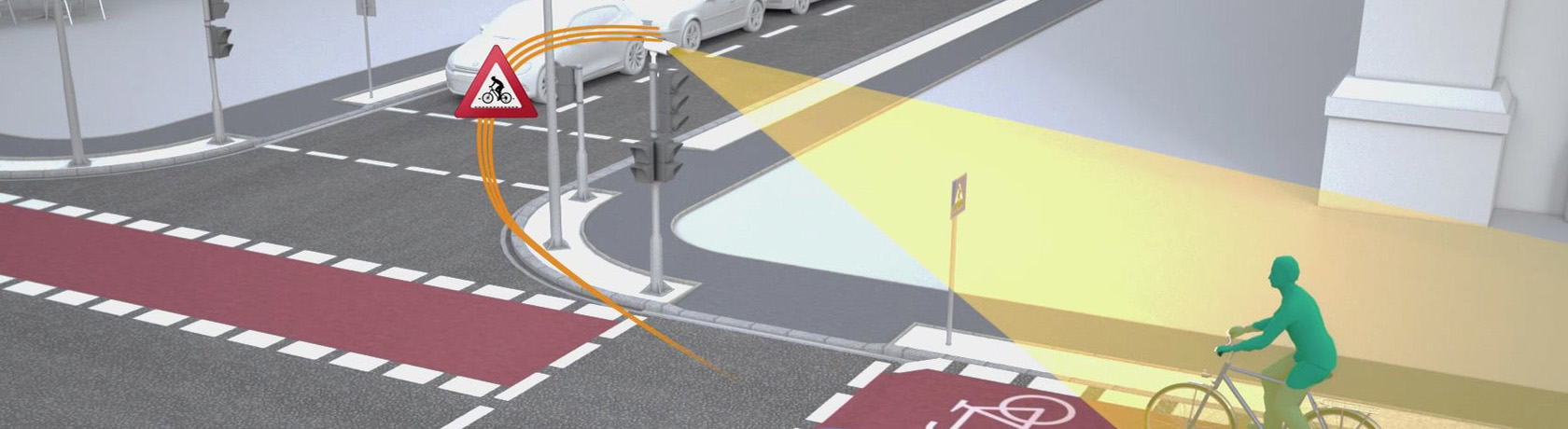 WLANp and IA technology to make crossroads safer