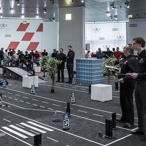 Un contest tra modellini hi-tech per sviluppare la guida autonoma