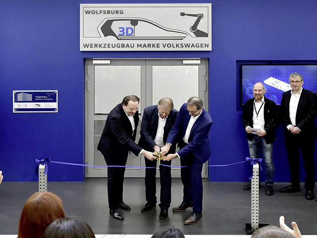 Advanced 3D printing centre for components opened
