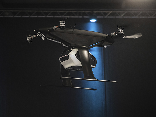 Pop.Up Next: the flying taxi concept takes its first test flight