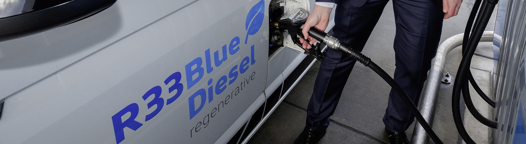 Dalla friggitrice al serbatoio, ecco l'R33 BlueDiesel