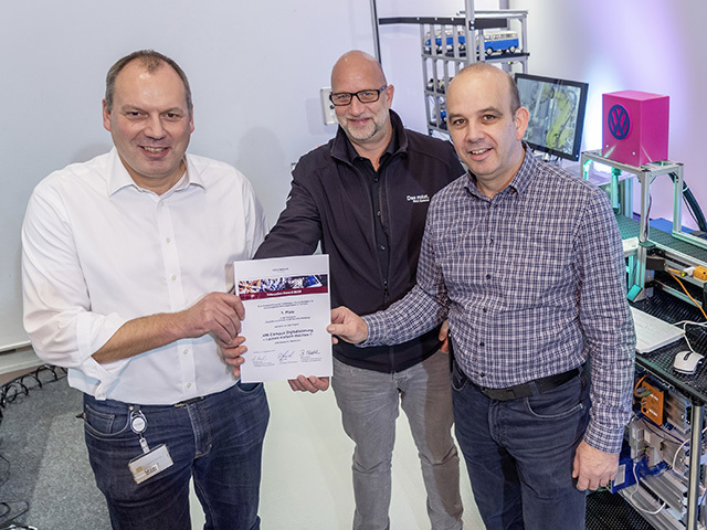 The Education Award rewards training excellence in the Volkswagen Group