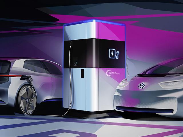 La Stazione Flessibile di Ricarica del Gruppo Volkswagen