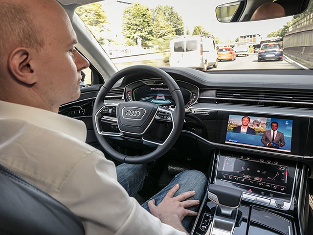 Tomorrow autonomous driving, today the Traffic Jam Pilot