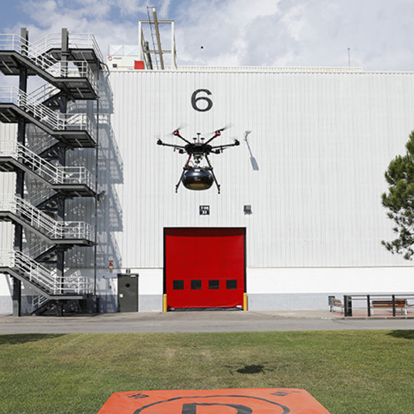 Delivering components via drone: the SEAT smart factory