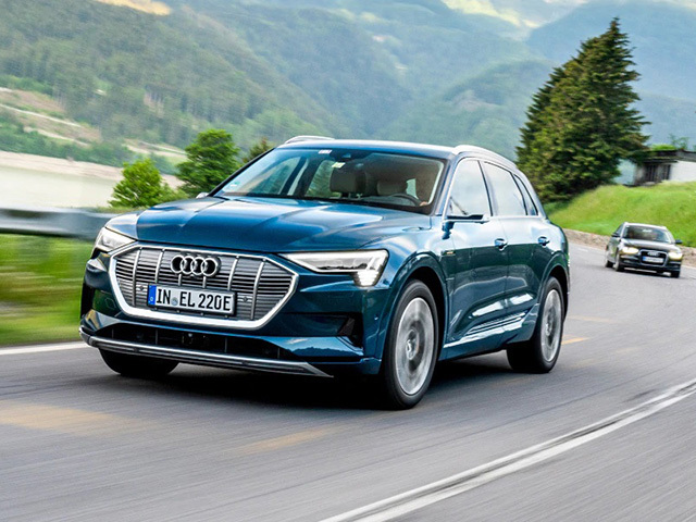 Audi e-tron e la sfida elettrica attraverso l'Europa