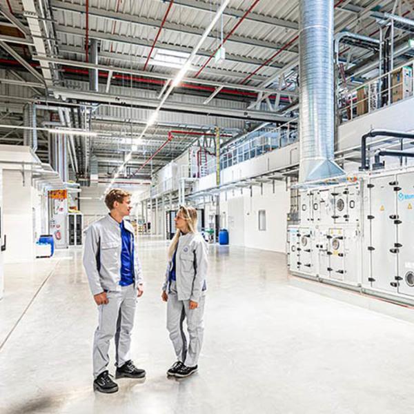 Una linea pilota per la produzione di celle batteria in Germania