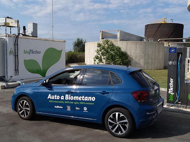 Volkswagen, al via una sperimentazione sul biometano in Italia