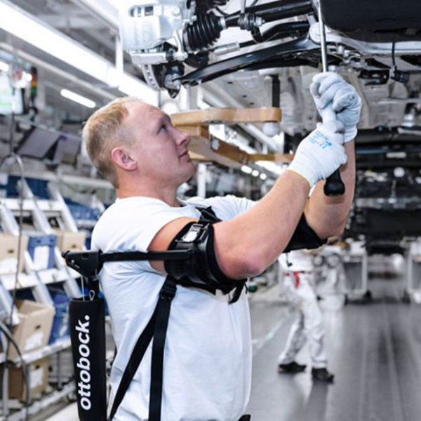 Improving ergonomics and efficiency with exoskeletons