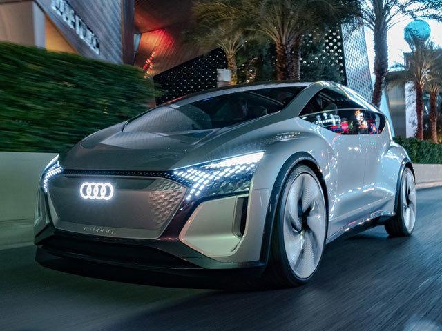 L'auto intelligente, hi-tech ed empatica: la visione Audi al CES 2020