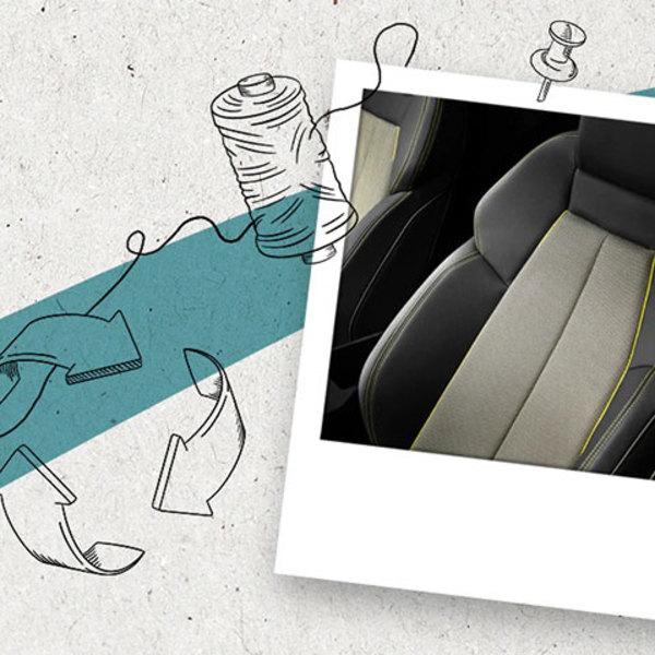Dalle bottiglie di plastica ai sedili: l'economia circolare Audi