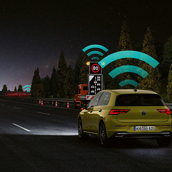 Connectivity and road safety: Volkswagen's Car2X technology