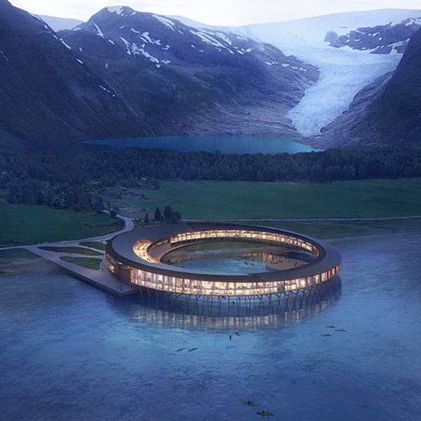 "Renewables and design: the world's first ""positive-energy"" hotel in Norway"