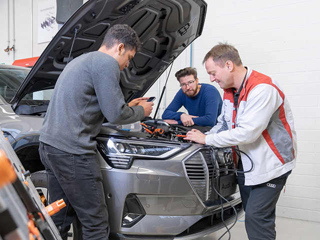 Audi Academy: continuous, state-of-the-art training