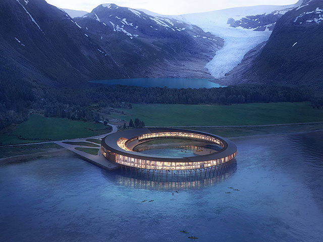 """Renewables and design: the world's first """"positive-energy"""" hotel in Norway"""