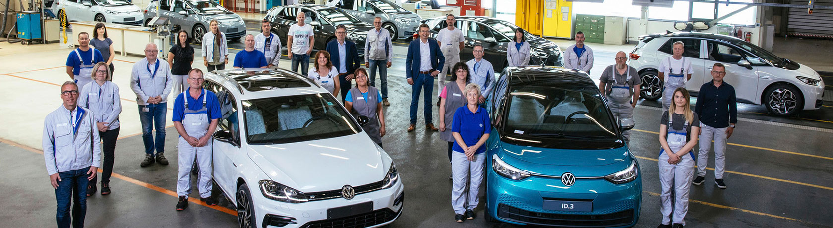 "The e-mobility revolution: Zwickau car factory is now ""100% electric"""