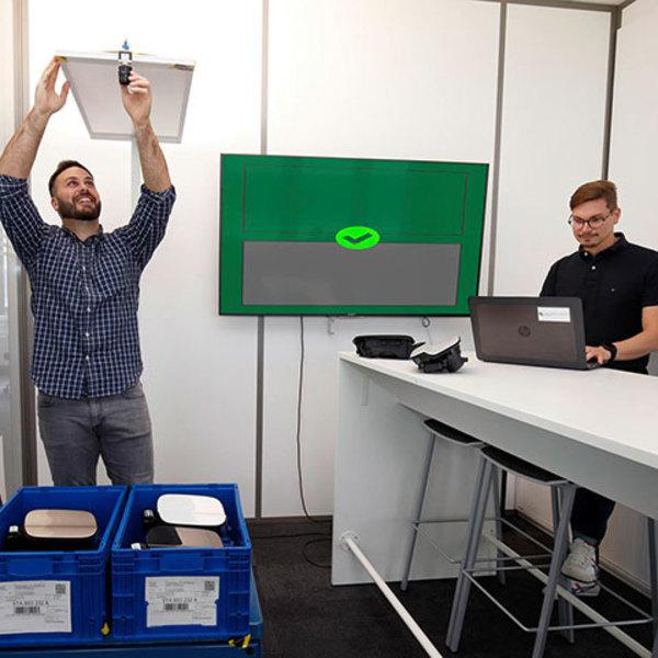 L'IA impara a vedere nello Smart.Production:Lab Volkswagen