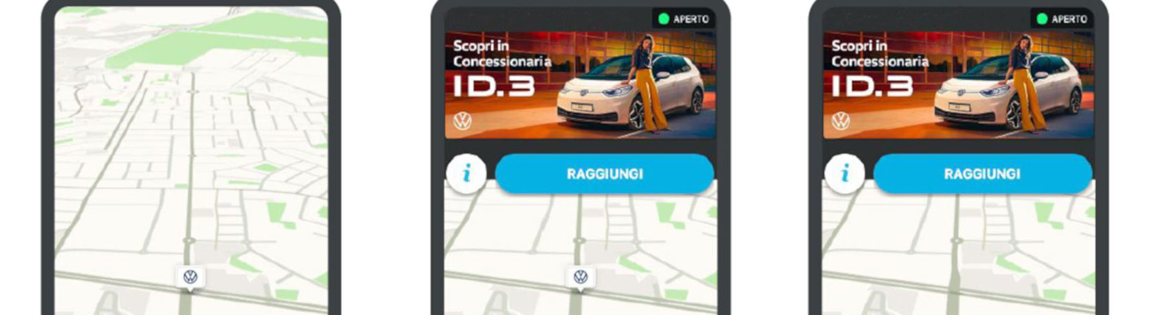 E-mobility: Italian charging points mapped with Waze and Volkswagen