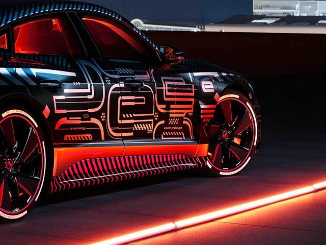 Audi e-tron GT: quality and technological progress in production