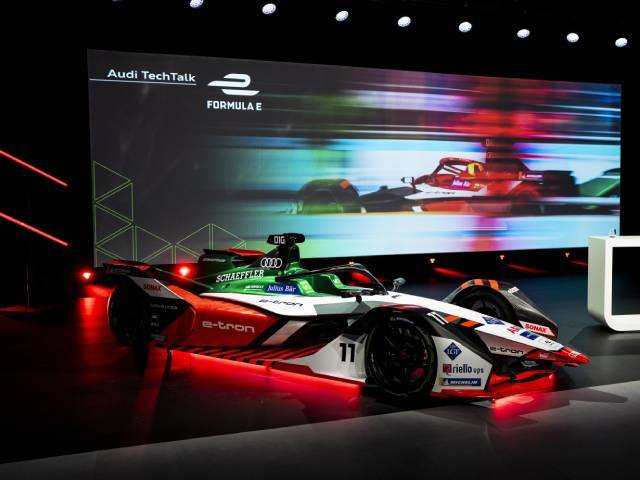 Audi e-tron FE07, un powertrain super efficiente per la Formula E