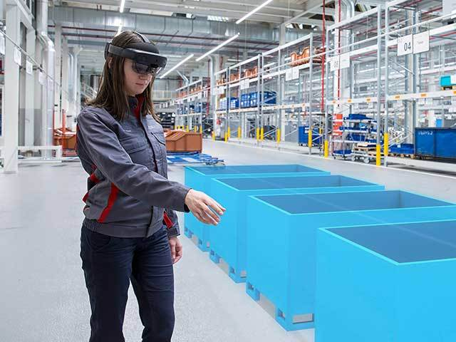 Augmented reality and 3D holograms to optimise Audi logistics