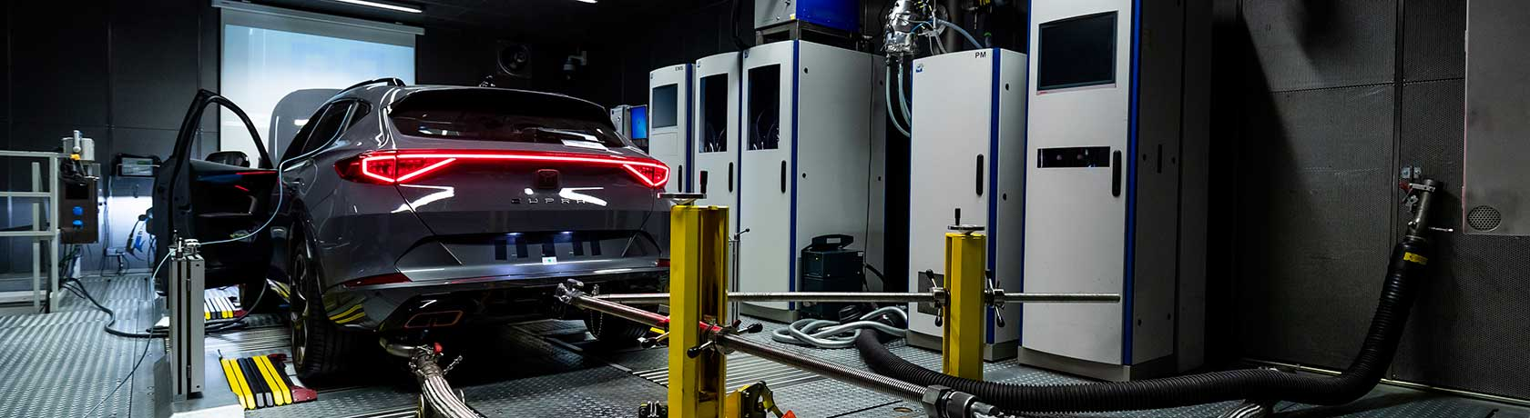 SEAT's innovative test centre for the engines of the future