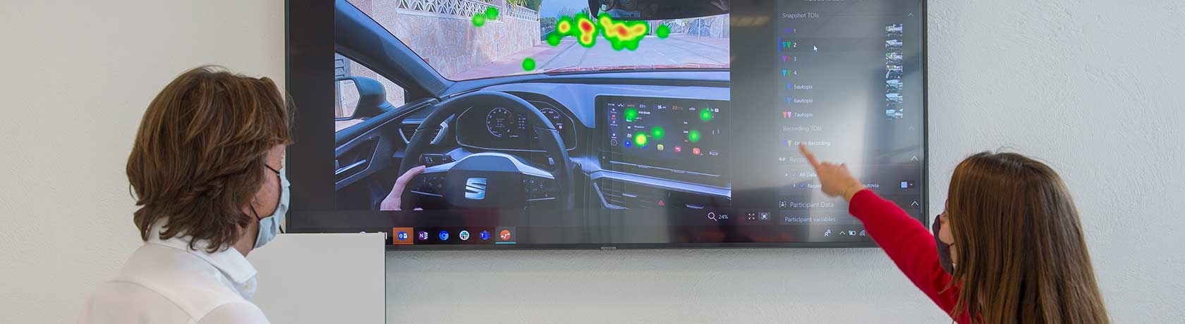 Eyes on the road! How Eye-Tracking can help increasing safety