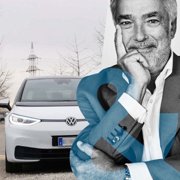 Massimo Nordio: me and my Volkswagen ID.3