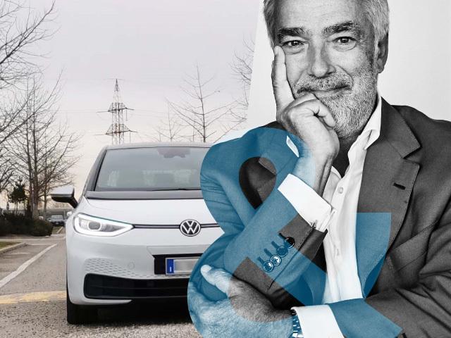 Massimo Nordio: me and my Volkswagen ID.3