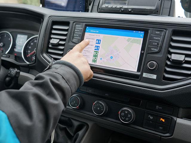 Volkswagen Veicoli Commerciali, un assistente digitale per i corrieri