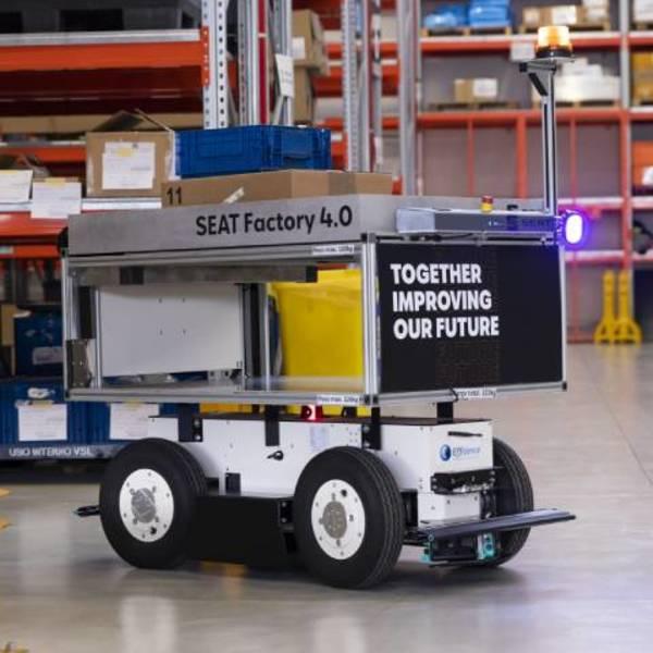 EffiBOT, i robot mobili autonomi nello stabilimento SEAT di Martorell