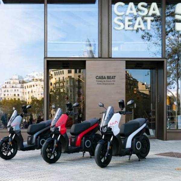From Spain to Italy: the 100% electric SEAT scooter