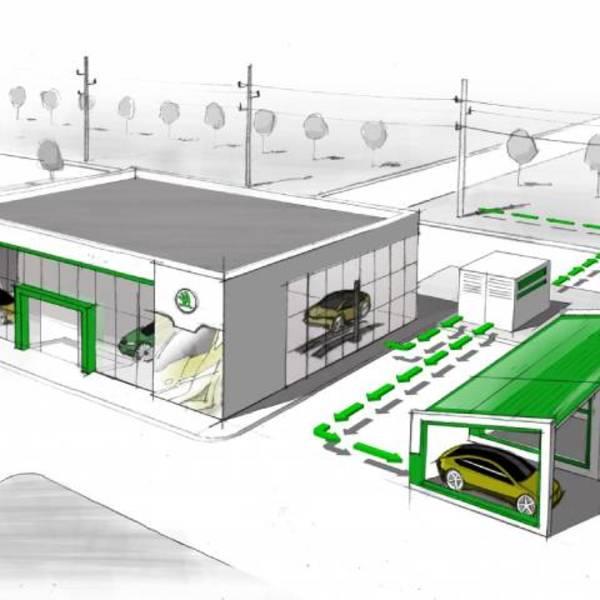 E-mobility: ŠKODA, la seconda vita delle batterie usate