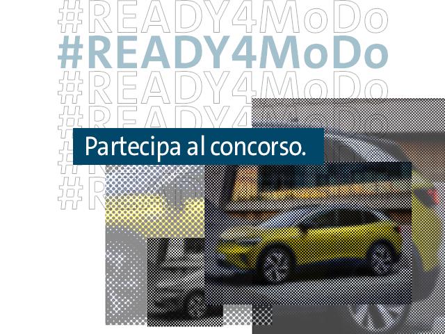 #READY4MoDo. Sei pronto per la Mobilità di Domani? Mettiti in gioco!